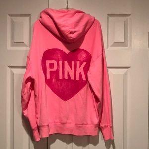 PINK Victoria's Secret zippered Jacket